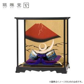 【送料無料】五月人形 上杉謙信公 飾りケースセット