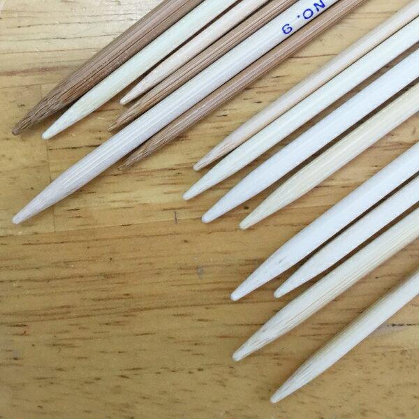 日本製 竹 編み針 5本針 15cm 短 0〜10号(0号 1号 2号 3号 4号 5号 6号 7号 8号 9号 10号)≪竹製 棒針 編針 靴下 小物 日本製 編みやすい≫
