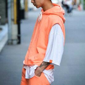 BULLISH ブリッシュ ノースリーブパーカー&ショート&Tシャツセットアップ セットアップ メンズ
