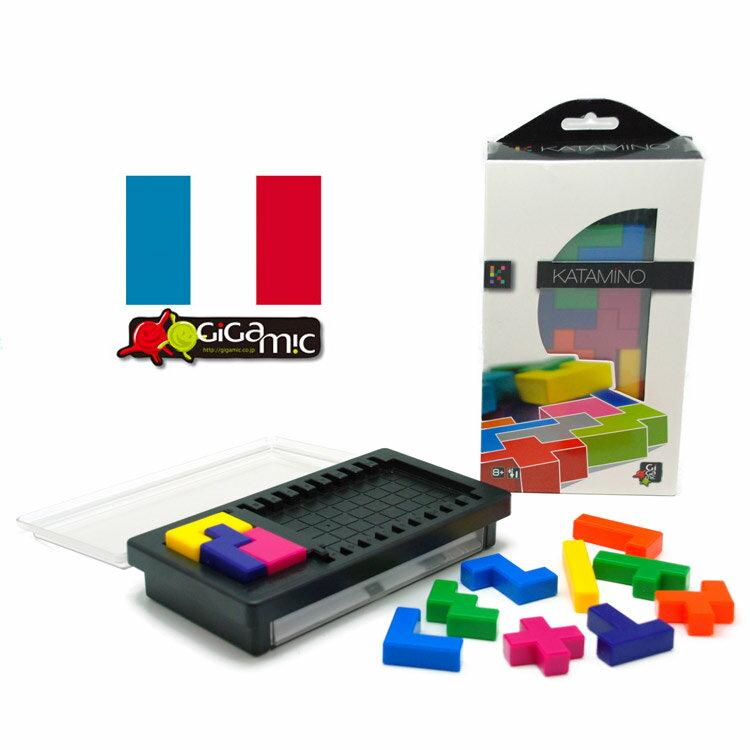 カタミノ ポケット【Gigamic (ギガミック)】 KATAMINO Pocket 正規輸入品持ち運びに便利なポケットサイズ世界中で遊ばれている大人気知育パズル!楽しみながら数学的思考力を養う!宅配便送料無料