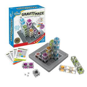 グラビティ・メイズ GRAVITY MAZE 正規輸入品ボールの通り道をふさがないようにタワーを配置せよ!立体的に考えて正解を導き出す重力迷路ゲームThinkFun シンクファン 宅配便指定商品