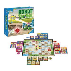 ロボット・タートルズ ROBOT TUERLES 正規輸入品Googleのプログラマーが開発したPCを使わないプログラミング学習ゲーム!ThinkFun シンクファン 脳トレ 知育 玩具 ボードゲーム パズル おもちゃ宅