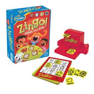 ジンゴ ZINGO! 正規輸入品英単語を学習できるビンゴゲームThinkFun シンクファン 脳トレ 知育 玩具 ボードゲーム パズル おもちゃ宅配便指定商品
