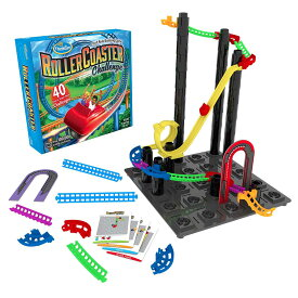 ローラー・コースター・チャレンジ Roller Coaster Challenge 正規輸入品ThinkFun シンクファン 脳トレ 知育 玩具 ボードゲーム パズル おもちゃ プログラミング 宅配便送料無料