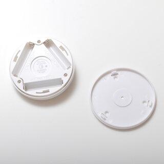 センサーライトLED照明人感センサー暖色寒色屋内専用非防水タイプ電池式マグネット着脱式丸型小型フットライトナイトライト[1月15日入荷予定予約商品]ネコポス送料無料