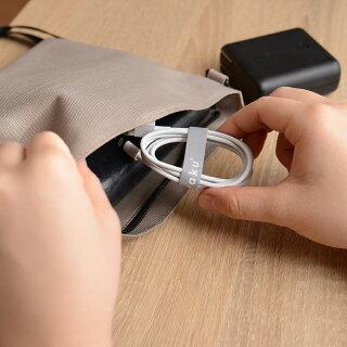 両面マジックテープマジックバンド幅12mm長さ2mファスナーケーブルまとめ配線、コード固定両面テープ壁掛け配線防災対策