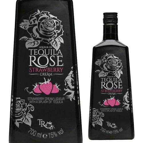 全商品ポイント3倍 5/11 20:00 〜 5/18 1:59テキーラローズ ストロベリークリーム 15度 750m[リキュール][tequila][rose][長S]