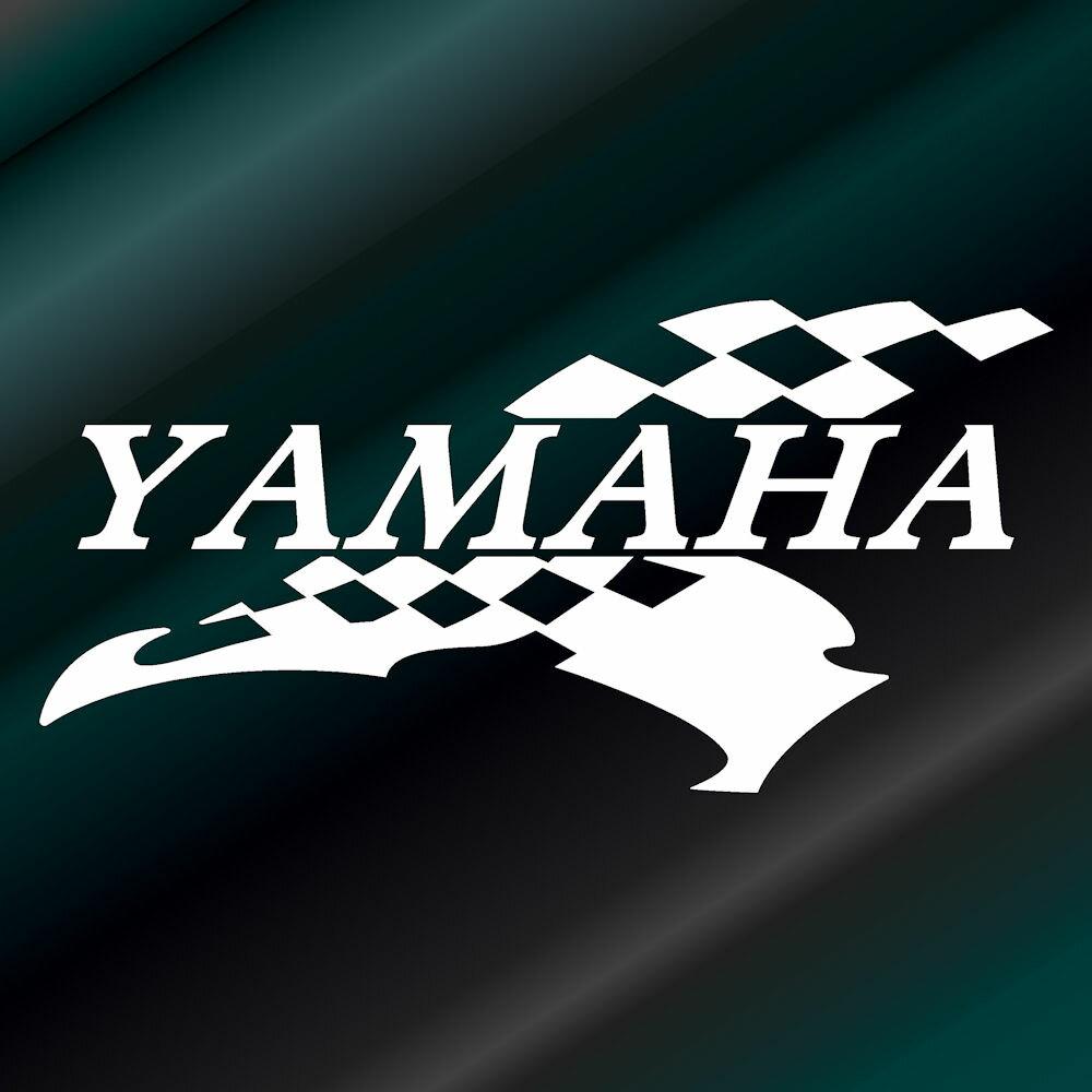 かっこいい ヤマハ スポーツ ステッカー (左側) 枠サイズ:10cm×20cmYAMAHA ステッカー バイク用 バイク用品デカール サイド用ステッカー