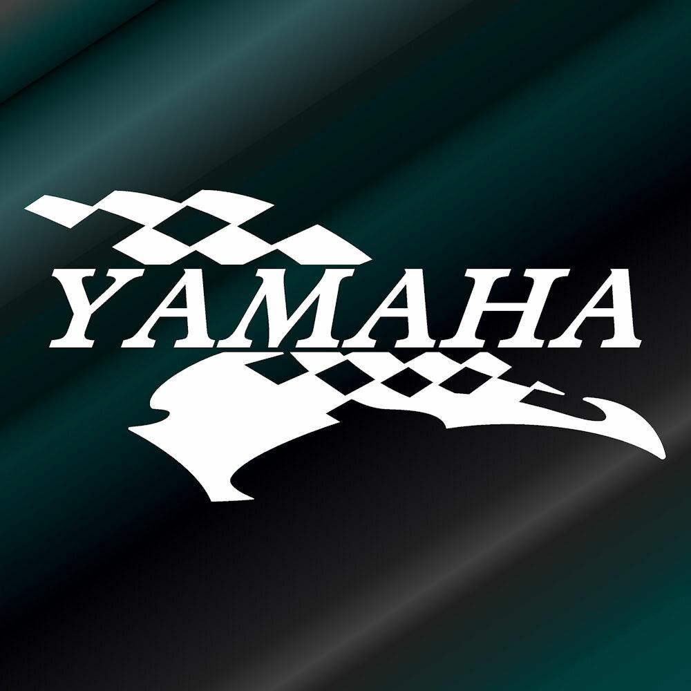 かっこいい ヤマハ スポーツ ステッカー (右側) 枠サイズ:13cm×26cmYAMAHA ステッカー バイク用 バイク用品デカール サイド用ステッカー