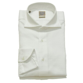 PIETRO PROVENZALE (pietroprobenzerre) cottenjaguardogravcheckcutawaywide 彩色衬衫 6402