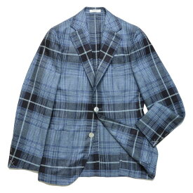 BOGLIOLI(ボリオリ)NEW DOVERドーヴァー シルクライトツィードタータンチェック3Bジャケット X2902E/C007 17061001052