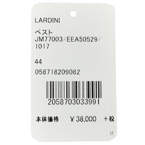 LARDINI(ラルディーニ)シルクリネンライトツィードグレンチェックジレJM77003/EEA5052914081001022