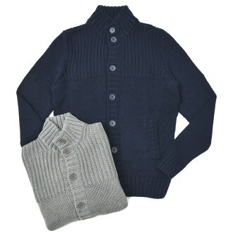 ZANONE Middle gauge Cotton Stand collar Knit Cardigan CHIOTO/811943/ZY377