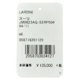 LARDINI(ラルディーニ)SPスーパーソフトストレッチウールトロピカルシャドーグレンチェック3B1プリーツスーツJM0823AQ/EERP5049417181001022