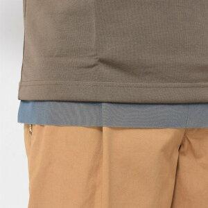 kolor(カラー)ナイロンコットンレイヤードモックネックS/Sカットソー18SCM-T1320712181400133