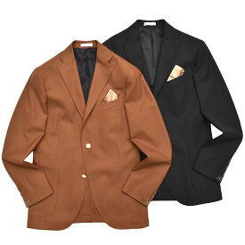 【SALE40】BOGLIOLI(ボリオリ)K.JACKETケージャケット ウールホップサックソリッド3Bジャケット(ポケットチーフ付き) N2902L/BAS041 17081000052