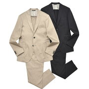 TONELLO(トネッロ)ストレッチコットンサテンソリッド2B1プリーツクロップドスーツ06G327Y17181201025