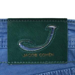 JACOBCOHEN(ヤコブコーエン)J622ガーメントダイコットンストレッチライトダックタイトストレートパンツ50159/943-LX53085008052