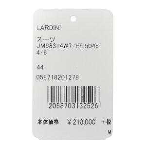 LARDINI(ラルディーニ)SARTORIAサルトリアウールシャークスキン3B1プリーツスーツJM98314W7/EEI5045417181012022