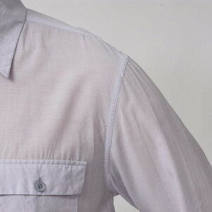 mando(マンドー)ガーメントダイキュプラコットンレギュラーカラーシャツ8395-00411082400037