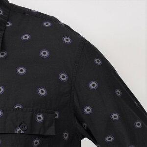 mando(マンドー)ガーメントダイキュプラコットンドットレギュラーカラーシャツ8395-00311082401037
