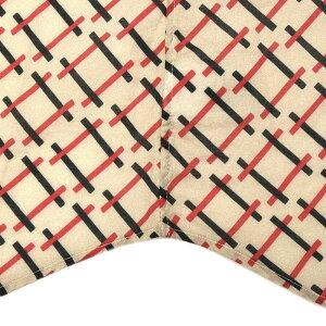 Bagutta(バグッタ)ウォッシュドコットンクロスプリントオープンカラーシャツRJOHNNYK/0811111085004054