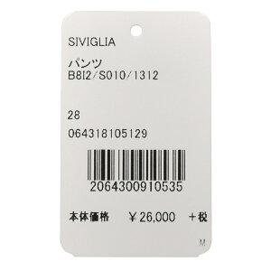 SIVIGLIA(シヴィリア)ガーメントダイコットンストレッチツイル1プリーツテーパードチノB812/S01013082000022