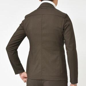 T-JACKET(ティージャケット)コットンナイロンストレッチジャージソリッド2Bジャケット7011000317082000065
