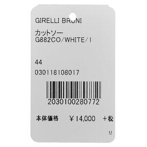 GIRELLIBRUNI(ジレッリブルーニ)ガーメントダイギザコットンスムースジャージL/SモックネックカットソーG882CO12082001022