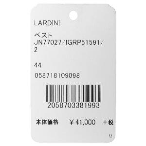 LARDINI(ラルディーニ)ウールライトツィードグレンチェックジレJN77027/IGRP5159114082001022