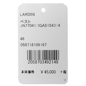 LARDINI(ラルディーニ)ウールライトツィードメランジハンドトゥースジレJN77041/IGA5154314082002022