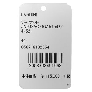 LARDINI(ラルディーニ)EASYイージーウールライトツィードメランジハウンドトゥース3BジャケットJN903AQ/IGA5154317082009022
