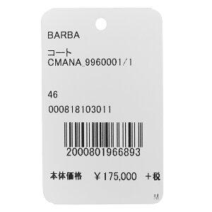 BARBA(バルバ)LoroPianaキャメルヘアーソリッドチェスターフィールドコートCMANA/996000114182005022