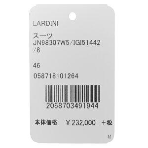 LARDINI(ラルディーニ)SARTORIAサルトリアウールサキソニーソリッド6Bダブル1プリーツスーツJN98307W5/IGI5144217182012022