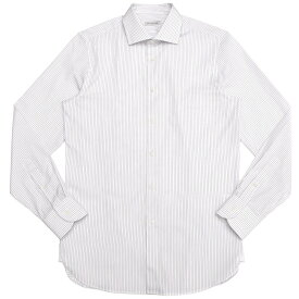 GUY ROVER(ギ ローバー)コットンブロードオルタネイトストライプワイドカラーシャツ W2530/582199 11191202027◇◇