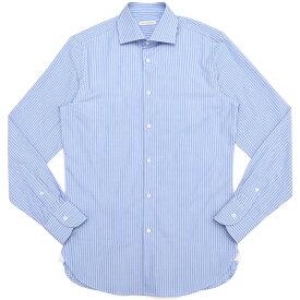 GUY ROVER(ギ ローバー)コットンピンヘッドストライプワイドカラーシャツ W2530/582199 11191203027◇◇