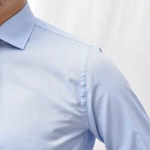 GUYROVER(ギローバー)コットンピンオックスソリッドワイドカラーシャツW2530/59110311191206027