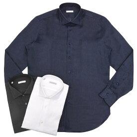 GUY ROVER(ギ ローバー)リネンソリッドワイドカラーシャツ W2530/591300 11191209027◇◇