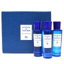 【予約商品】ACQUA DI PARMA(アクア ディ パルマ)オードトワレ Blu Mediterraneo 30ml×3ボトルパッケージ 19082000…