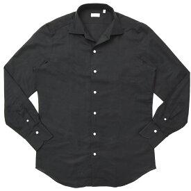 Finamore(フィナモレ)ELBAエルバ/CAPRIカプリ コットンリネンソリッドワンピースカラーシャツ P9063 11191205039
