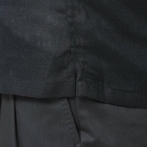 Giannetto(ジャンネット)リネンソリッドオープンカラーS/SシャツAG833BOWMM11091010109