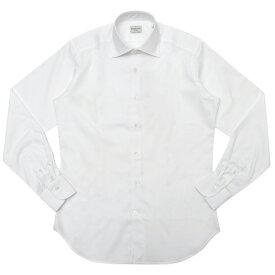 【SALE30】Bagutta(バグッタ)コットンピンオックスソリッドセミワイドカラーシャツ 389GL/CN3448 11191200054