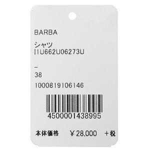 BARBA(バルバ)406コットンピンオックスソリッドワイドカラークレリックシャツI/406/TONDO/U0627311192204022