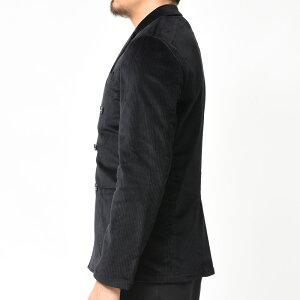 Giannetto(ジャンネット)コットンストレッチコーデュロイ6Bダブルシャツジャケット9203A281RIVD17092001109