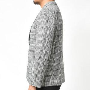 Giannetto(ジャンネット)ポリエステルウールライトツィードグレンチェック2Bシャツジャケット9203A351RIVS17092002109