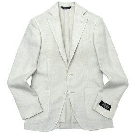 Belvest(ベルベスト)リネンウールシルクホップサックソリッド3Bジャケット JACKET IN THE BOX G10647/5957 17001204020