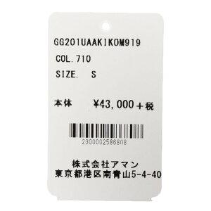 THEGIGI(ザジジ)AKIKOレーヨンナイロンストライプジップアップブルゾンM91914001403039