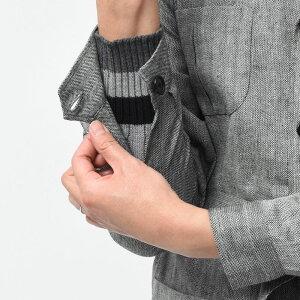 DePetrillo(デペトリロ)シルクリネンウールヘリンボーン4ポケットベルテッドジャケットSAHARIANA/TS20131U17001007082