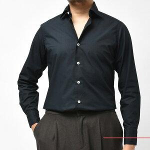 Giannetto(ジャンネット)コットンブロードソリッドセミワイドカラーシャツVINCIFIT/103300V8111002000109