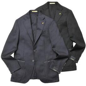 LATORRE(ラトーレ)ウールホップサックソリッド3Bジャケット BR5/BL001/21762 17012001052